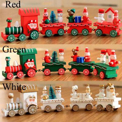 Eisenbahn Weihnachtsdeko.Neu Weihnachtszug Holz Zug Eisenbahn Weihnachtsdeko Weihnachten Kinder Geschenk