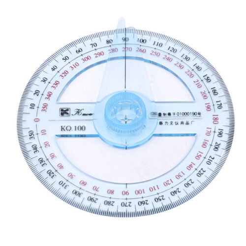 Useful Measuring Tools Swing Arm Protractor Angle Finder Ruler 360 Degree Shan 6