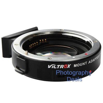 Viltrox EF-M2 II AF Adapter Focal Reducer Booster For Canon EF Lens to M43 MFT 2