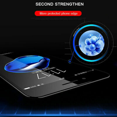 For iPhone 11 Pro Max XR X XS Max 8 7 Plus Tempered Glass Clear Screen Protector 5