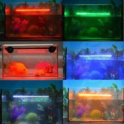 Aquarium Fish Tank 5050 SMD RGB White&Blue Color LED Light Bar Lamp Submersible 4