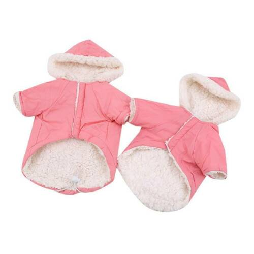 Winter Dog Coats Pet Cat Puppy Chihuahua Clothes Hoodie Warm  Dog Clothing Z 11