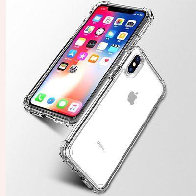 Antichoc Bumper Silicone Housse Coque iPhone XS Max 2018 XR X 8 Plus 7 Plus 6s 5 4