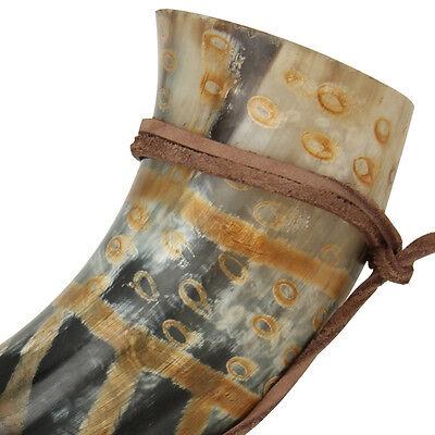 Viking Drinking Horn Norman Leather Holder 2