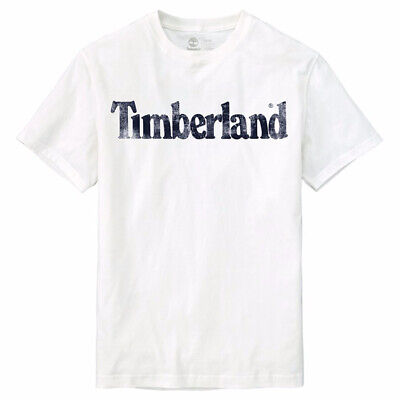 NWT Timberland Men's Faded Linear Logo Short Sleeve Crew Neck T Shirt A11GY NEW 7