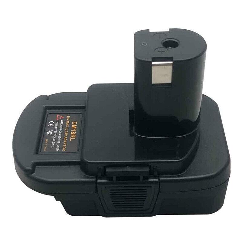 Adaptateur de batterie pour convertisseur DEWALT Milwaukee à fiche RYOBI 18VQ9F