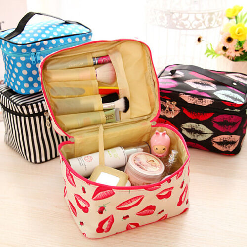 Women Cosmetic Make Up Travel Toiletry Bag Pouch Organizer Handbag Case Storage 9