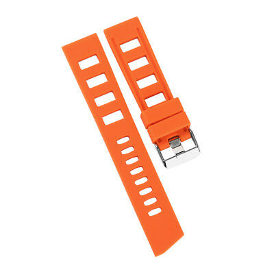 20/22mm Silicone Rubber Watch Band Strap Replacement Bracelet Spring Bars 9