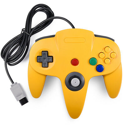 N64 Controller Joystick Gamepad Long Wired for classic Nintendo 64 Console Games 9