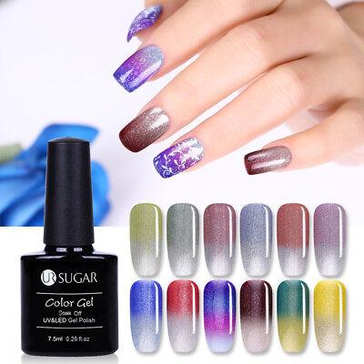 UR SUGAR Vernis UV Gel Thermique Nail Art UV Gel Polish Soak off Color Changing 5
