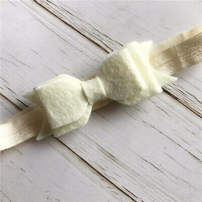3pcs Set Newborn Baby Girls Floral Headband Ribbon Elastic Strap Hair Band Sets 5