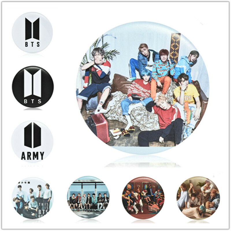 KPOP BTS Bangtan Boys Q Styles Brooch Pins Badge Broches For Clothes Backpacks 4
