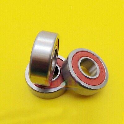 3pcs Non Standard Sealed Metal Ball Bearing 6301/15-2RS 15 x 37 x 12mm[DORL_A] 2