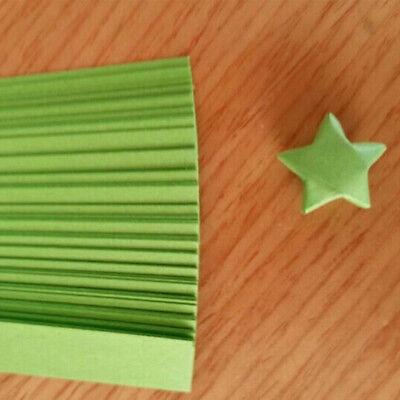 240pcs Origami Lucky Star tiras de papel cintas de papel plegables colores GK 3