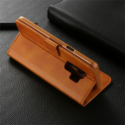 For Samsung Galaxy S10 S9 S8 Plus A8 A7 Magnetic Flip Leather Wallet Case Cover 10