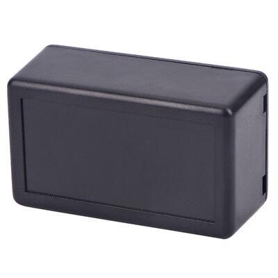 5pcs Black Waterproof Plastic Electric Project Case Junction Box 60x36x25mm TWUK 5