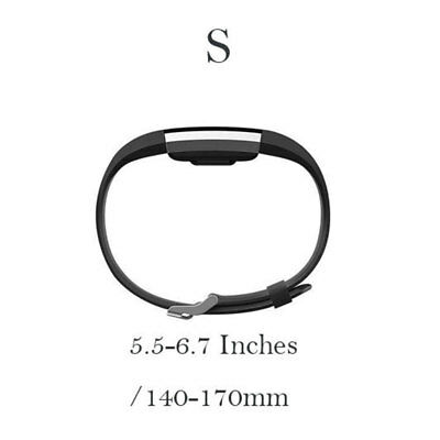 10 Pack Replacement Wristband For Fitbit Charge 2 Band Silicone Fitness Small 5