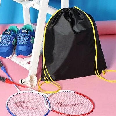 Cinch Sack Backpack String Drawstring Gym Bag Tote School Sport Travel Rucksack 9
