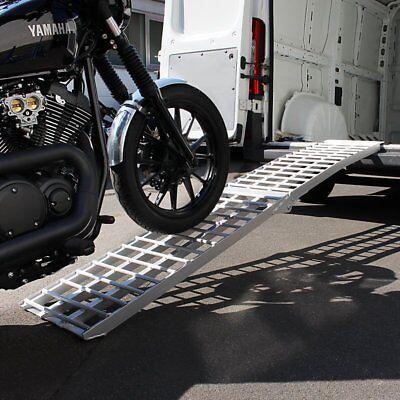 Alu-Auffahrrampe Aluminium Auffahrschiene CS V, max. 680 kg, Motorrad-Rampe 1