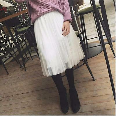 Fashion Multi Layers Skirt Womens Tutu Cocktail Party Dresses Tulle Skirts LG 4