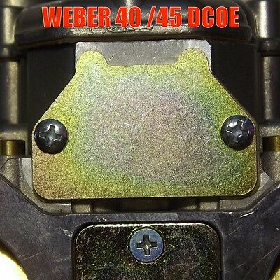 WEBER IDF//DCOE COLD START CHOKE COVER