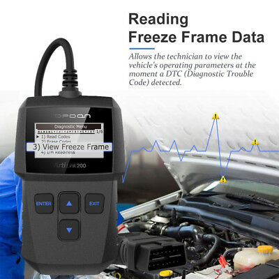 Car Vehicle Auto Diagnostic Scanner OBD2 EOBD OBDII Scan Tool Fault Code Reader 4
