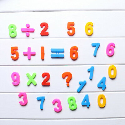 NEW 26 LETTERS Alphabet Numbers Fridge Magnet Child ...