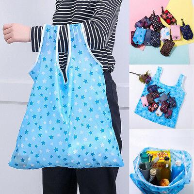Reusable Foldable Eco Shopping Bag Animal Tote Handbags Fold Away Bags 4