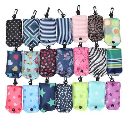 Reusable Foldable Eco Shopping Bag Animal Tote Handbags Fold Away Bags 2