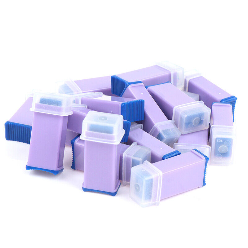 Safety Lancets, Pressure Activated 28G Lancets for Single Use, 50 Count 3
