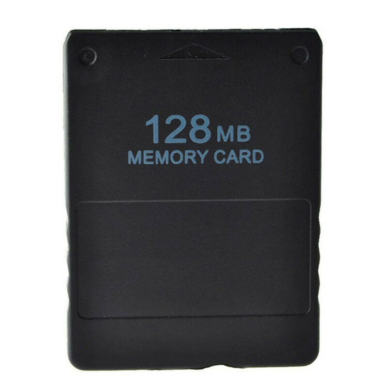 128MB Memory Card Save Game Data Stick Module For Sony PS2 PS Playstation Black 2