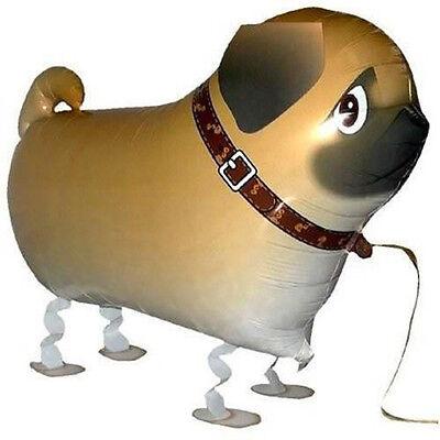 Children Walking Foil Pet Pug Dog Balloon Helium Fun  Party Birthday Decors YJ 2