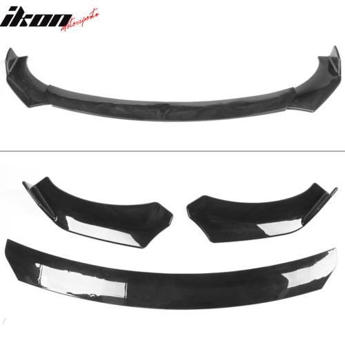 Universal A Style Front Bumper Lip Chin Spoiler Air Dam Gloss Black 32 99 Picclick