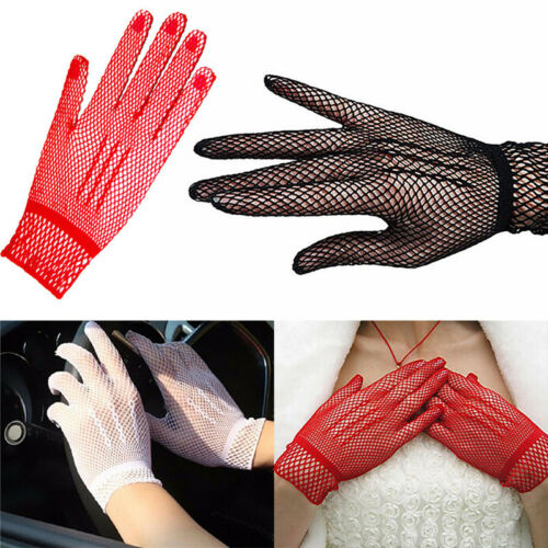 Hot Sexy Women's Girls' Bridal Evening Wedding Party Prom Driving Lace GloveJGUS 4