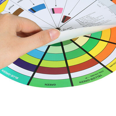 23 5cm Diameter Nail Color Embroidery Wheel Artists Color Wheel