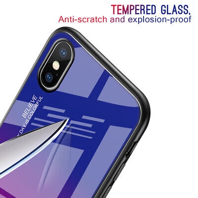 Tempered Glass Phone Case For Apple iPhone 11 Pro Max 6S 7 8 Plus X XS MAX XR 6