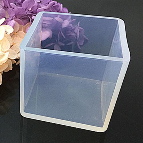 Silicone Pendentif Moule Bijoux Fabrication Cube Résine Casting Outild'Artisa FE 5