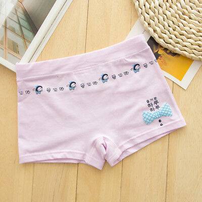5 Pack Girls Boxer Shorts Briefs Cotton pants Underwear Knickers age 5-12 years 10