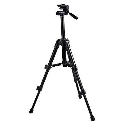 Outdoor Portable Aluminum Tripod Stand Flexible For CANON Nikon Camera Camcorder