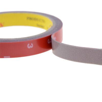Cinta permanente doble cara adhesiva adhesivo pegamento fuerte + forro rojo 3m 6