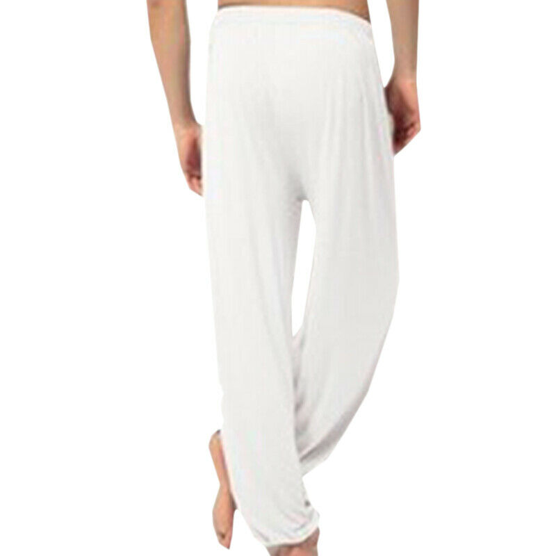 Womens Mens Harem Pants Yoga Festival Baggy Hippie Genie Alibaba Hareem Trouser 8