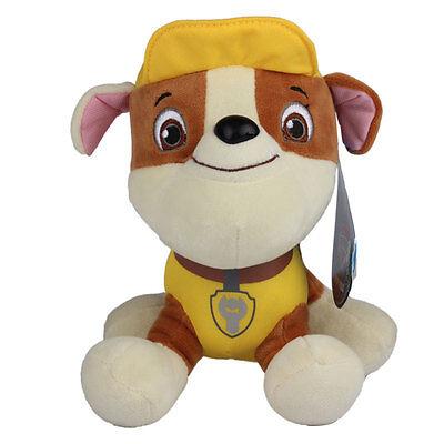"""Plush Pup Pals 8"""" Paw Patrol Skye/zuma Rocky Soft Toys Nickelodeon Dog Set Gift 5"""