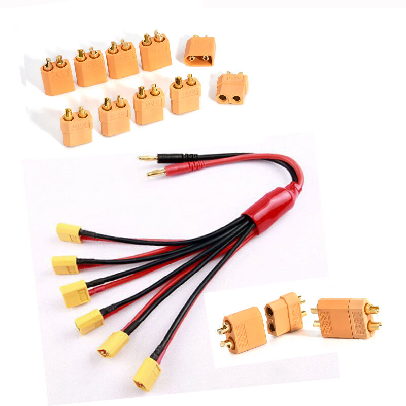 Lots 10pcs Male & Female XT60 Bullet Connector Plug ESC For RC Lipo Battery 2