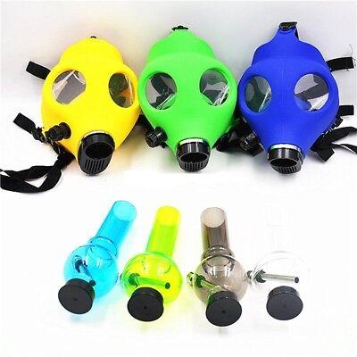 Silicon Gas Mask Bong Hookah Smoking Mix Colors Mask USA Seller Free Shipping 6