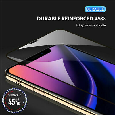 Screen Protector for iPhone 11, 11 Pro Max 9H Curved FULL COVER TEMPERED GLASS 3