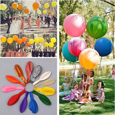 18inch Colorful Big Latex Balloons Wedding Balloon Birthday Party Decor 3