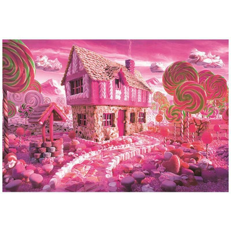 Kids Adult Puzzle 1000 Pieces Mini Jigsaw Decompression Game Toys Gifts Home 10