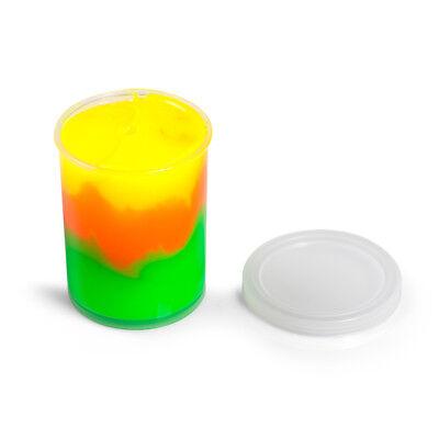 2x Spiral Knete Schleim Intelligente Knete Schleim Magische Schleim Bunter Knete