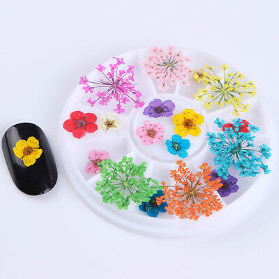 3D Nail Art Rhinestones Glitters Beads Acrylic Tips Decoration Manicure Wheels 11