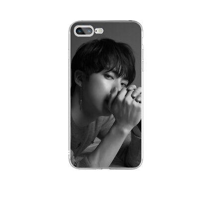 KPOP Bangtan Boys Soft TPU Phone Case Cover For iPhone X 6 6s 6 7 8 Plus 8